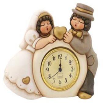 Orologio coppia sposini