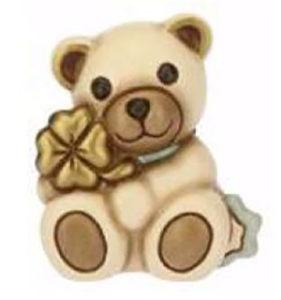 Teddy con quadrifoglio